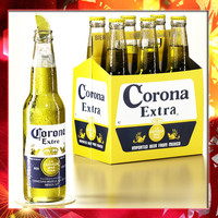 Corona Beer - 6 pack cardboard box